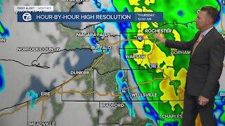 7 First Alert Forecast 5am Update, Thursday, September 23