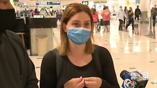 Mother trapped in Mexico returns home