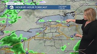 7 First Alert Forecast 5 p.m. Update, Friday, October 22