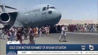 Gold Star mother calls Afghan situation 'shameful'
