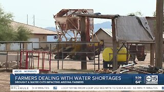 Scarce water putting strain on century-old family farmland in Casa Grande