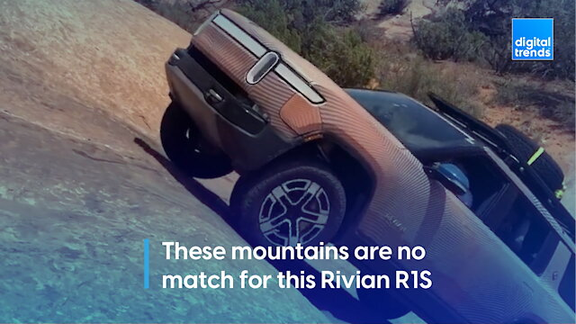 These mountains are no match for this Rivian R1S