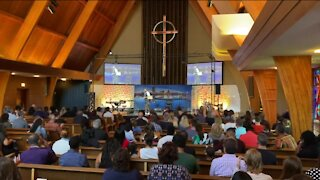 Multi-ethnic church holds first in-person service amid pandemic