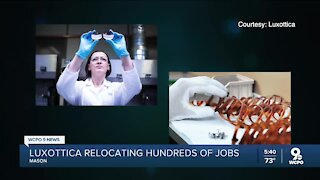 Luxottica moving hundreds of jobs out of Mason