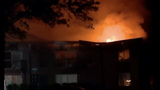 Crews battle large fire at Westland apartment complex