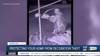 Officials discuss holiday decoration theft