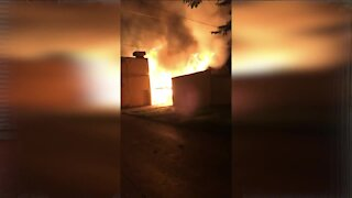 Milwaukee family loses everything in house fire, MFD says 'suspicious' fire started in garbage cart