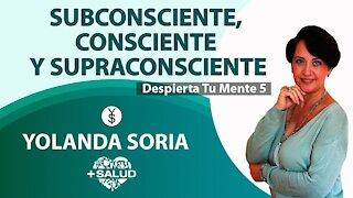 SUBCONSCIENTE, CONSCIENTE Y SUPRACONSCIENTE por Yolanda Soria Despierta Tu Mente 5