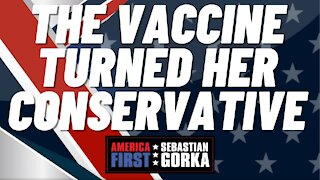 The vaccine turned her conservative. Dave Brat with Sebastian Gorka on AMERICA First