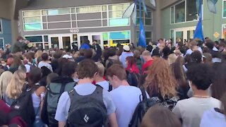 """""""Step down Tay!"""": Hundreds of students call on DPS board member Tay Anderson to resign"""
