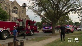 Church fire in Waldo neighborhood ruled accidental