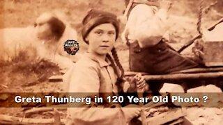 Greta Thunberg Found in 120 Year Old Photo ? ArtAlienTV