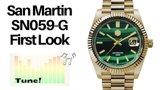 First Look at the San Martin SN059-G