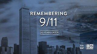 Remembering 9/11 twenty years later