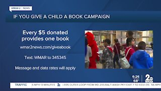 If You Give A Child A Book Campaign