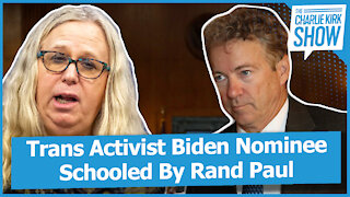 Trans Activist Biden Nominee Schooled By Rand Paul