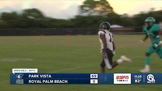 Park Vista shuts out Royal Palm Beach 69-0