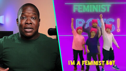 """WOW: Kids SING A Song Called """"FEMINIST Boys"""""""