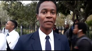 SOUTH AFRICA - KwaZulu-Natal - Interviews with people surrounding Zuma Trial - Day 2 (Videos) (3Z4)