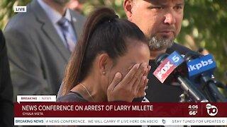 Family of Maya Millete speak out on arrest of Larry Millete
