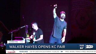 Walker Hayes opens the Kern County Fair