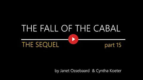 Fall of the Cabal Sequel Part 15 of 1 - 17
