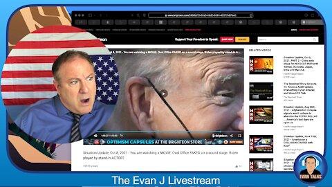10/8/21 - Fake President Biden, Real Nazi-Era Type Horrors - Ep. 092