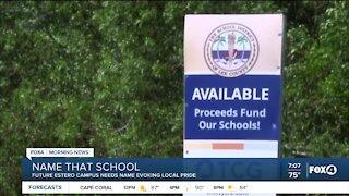 Future Estero primary school needs name evoking pride