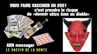"""Se """"faire vacciner"""" contre la COVID en 2021 c'est """"prendre quel risque""""...?"""