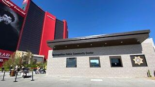 Las Vegas police open community safety hub next to Resorts World
