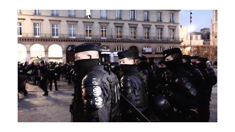 Paris brennt - diesmal nicht