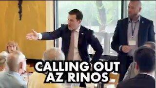 People in Arizona are getting very frustrated. Daniel McCarthy and Steve Daniels.