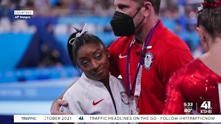 Kansas City-area sports psychologist weighs in on Simone Biles putting mental health first