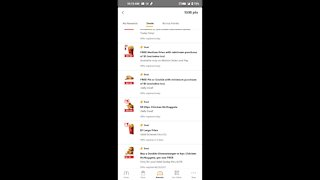 McDonald's freebies and daily deals