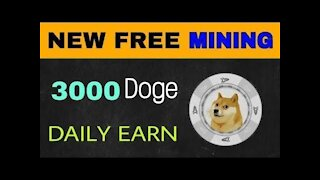 DODGE COIN FREE mining site ( MARCH 2021)