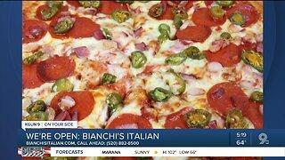 Bianchi's Italian serves Italian takeout