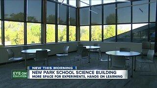 Park School opens brand new science building