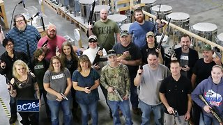 Local company gives all employees handguns for Christmas