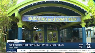 SeaWorld San Diego reopening with restrictions