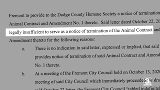 Animal shelter sues Fremont, other local shelter