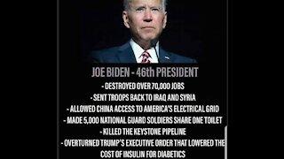 Biden's 25+ Executive Orders = Slavery