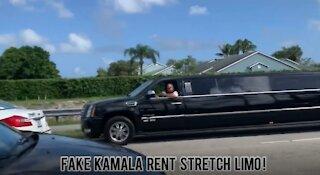 Kamala Harris - Fake Limo