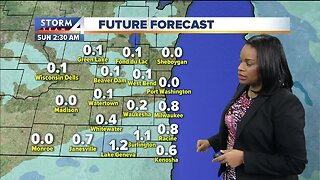 Arctic air moves out, snow moves in