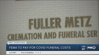 FEMA may pay for COVID funeral cost