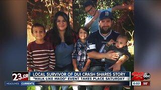Local survivor of DUI crash shares story