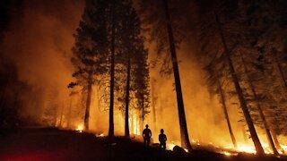 Cooler, Wet Weather Helping Crews Battle California Wildfire