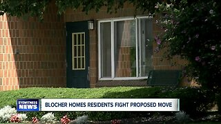 Blocher Homes residents say they're not budging