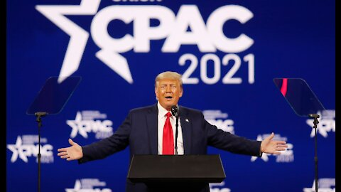 CPAC2021 Trumps Speech Part 1 / The Crises At The Border
