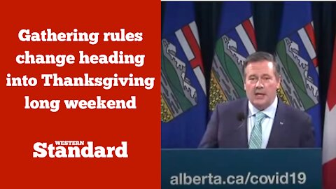 Gathering rules change heading into Thanksgiving long weekend