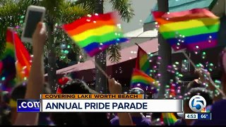 Lake Worth Beach holds annual Pride Parade